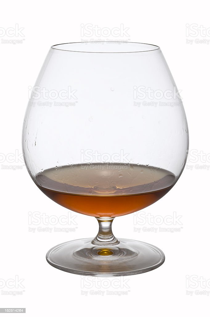 Alcohol in glass royalty-free stock photo