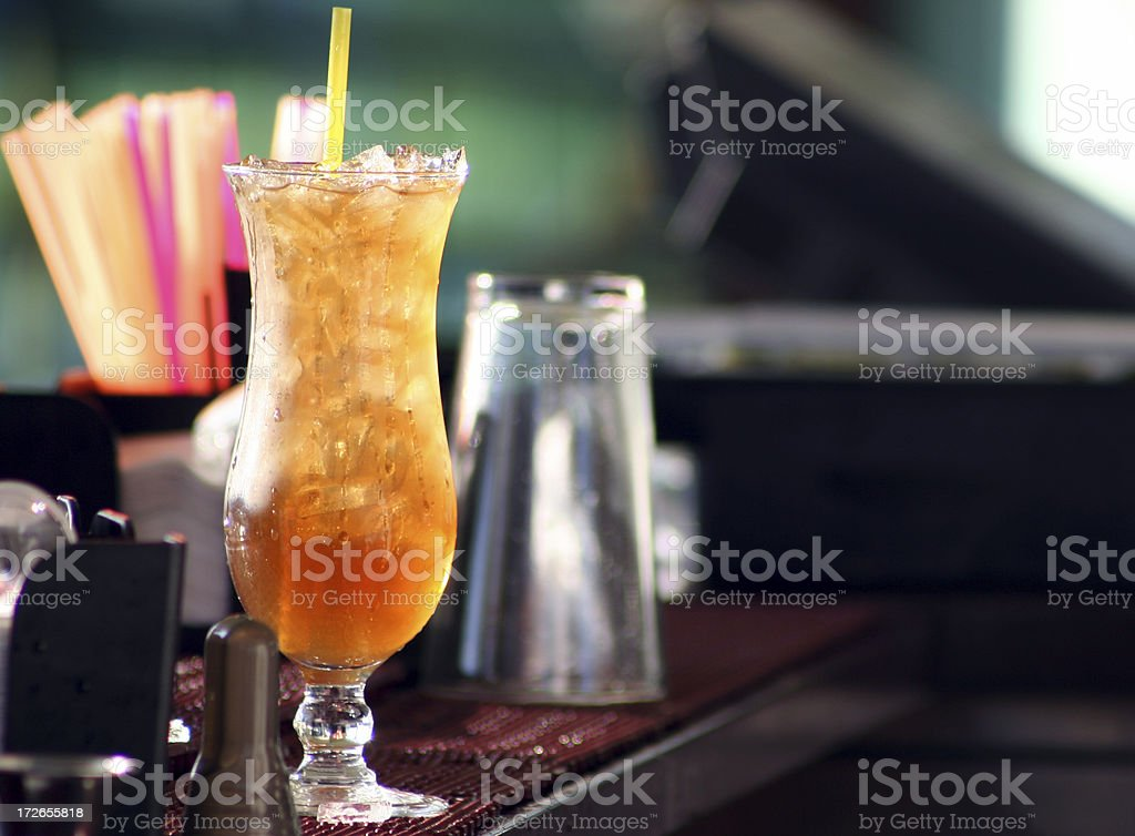 Alcohol- Long Island Iced Tea stock photo