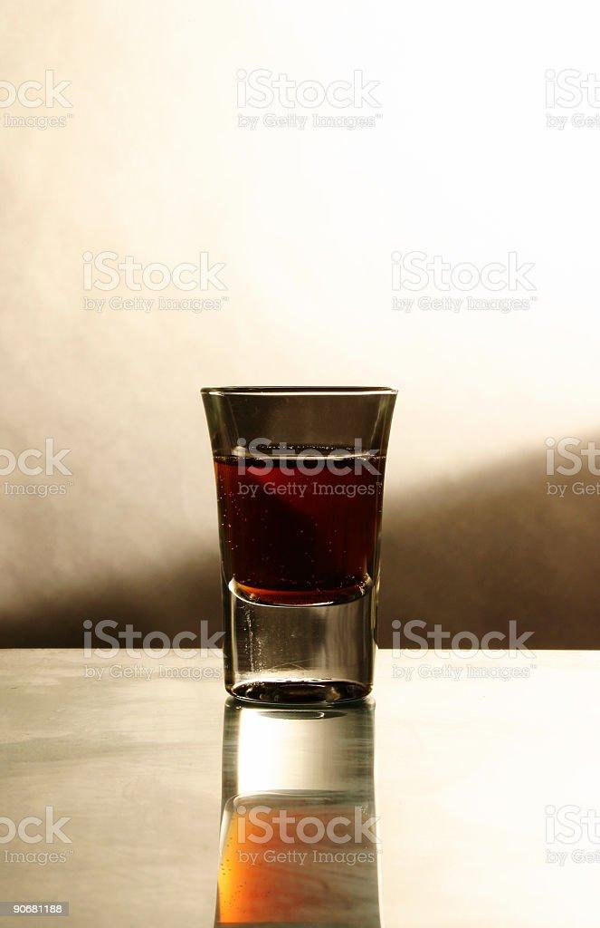 Alcohol - Shot Glass royalty-free stock photo