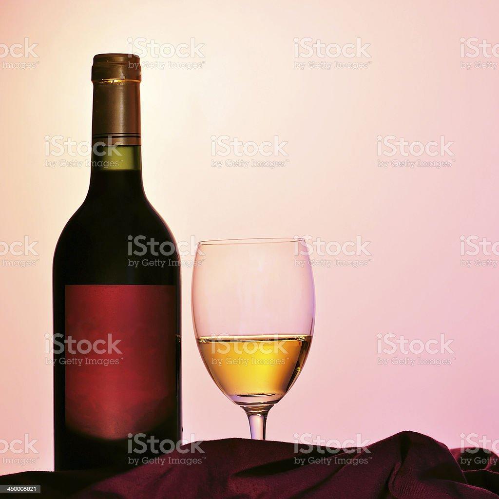 Alcohol - Wine Bottles royalty-free stock photo