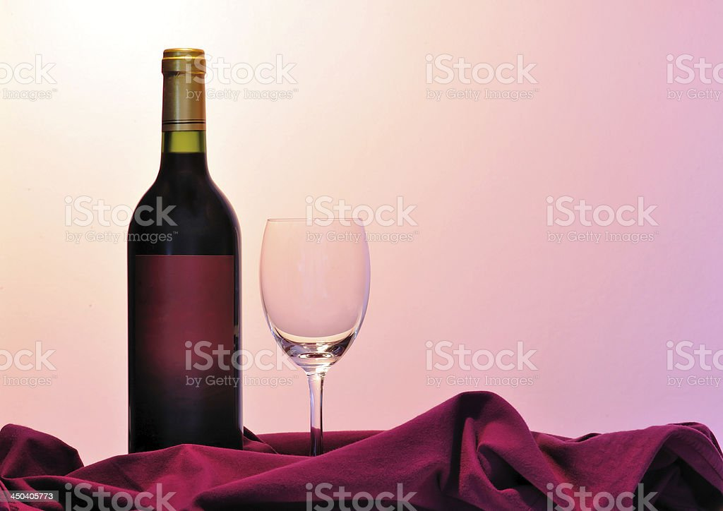 Alcohol - Wine Bottles royalty-free stock photo