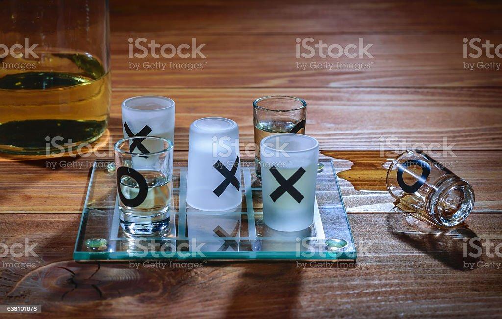 Alcohol wins stock photo