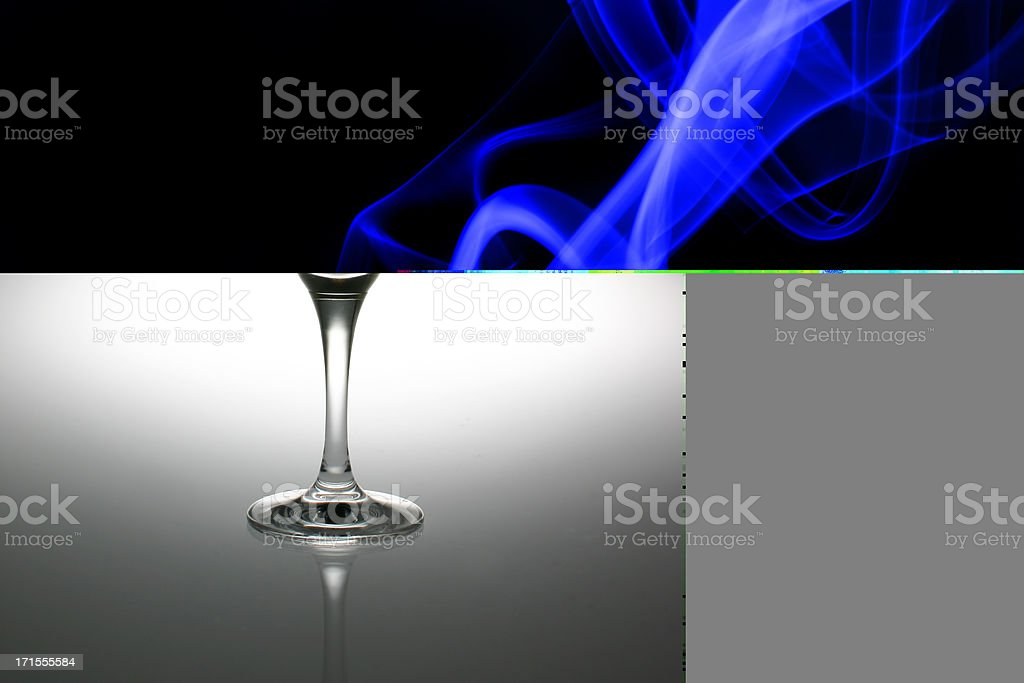 Alcohol - Yellow cocktail stock photo