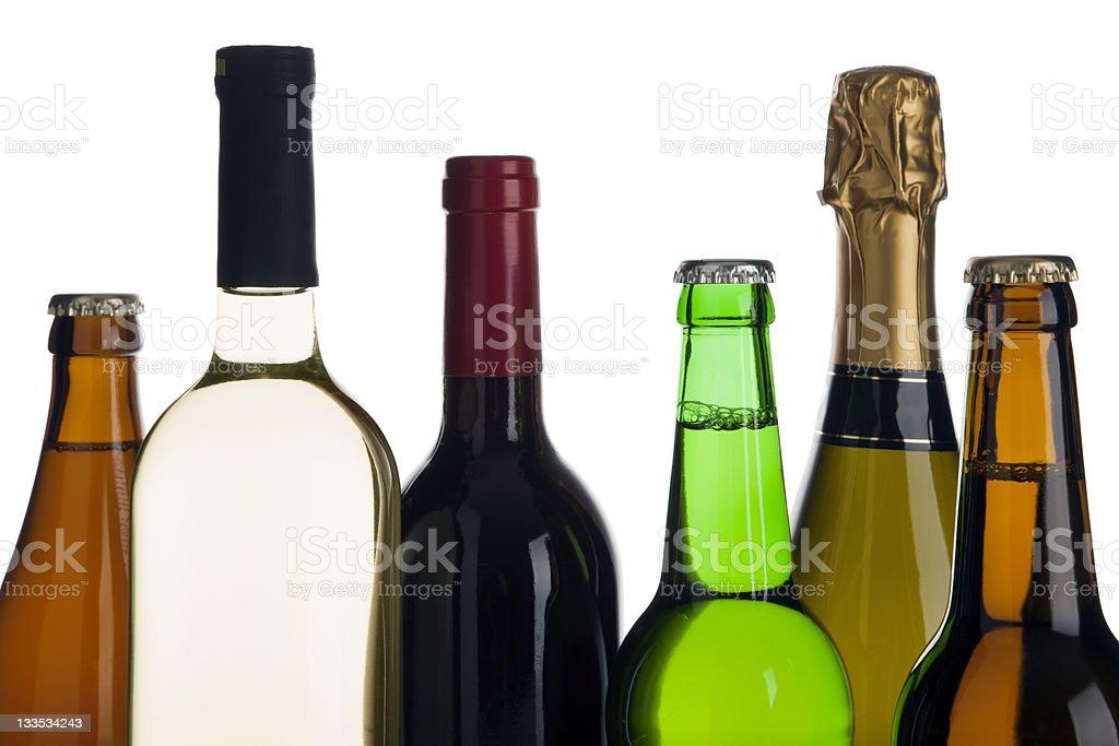 alcoholic beverages stock photo