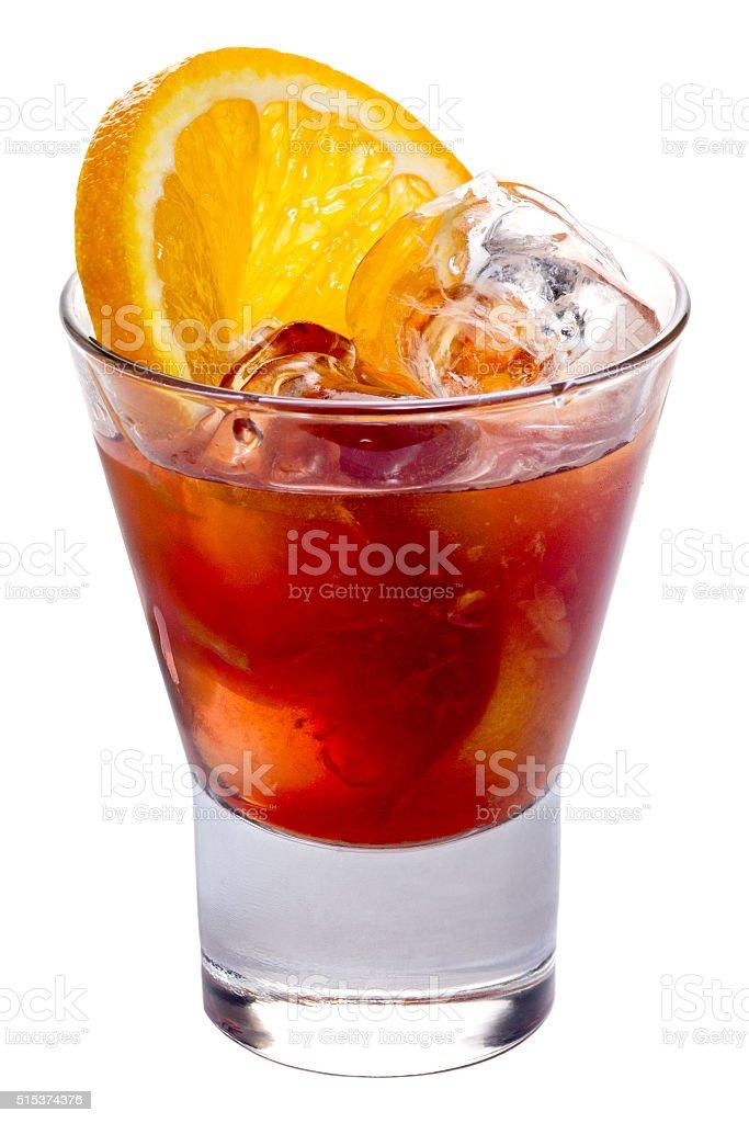 Alcoholic cocktail 'Negroni' stock photo