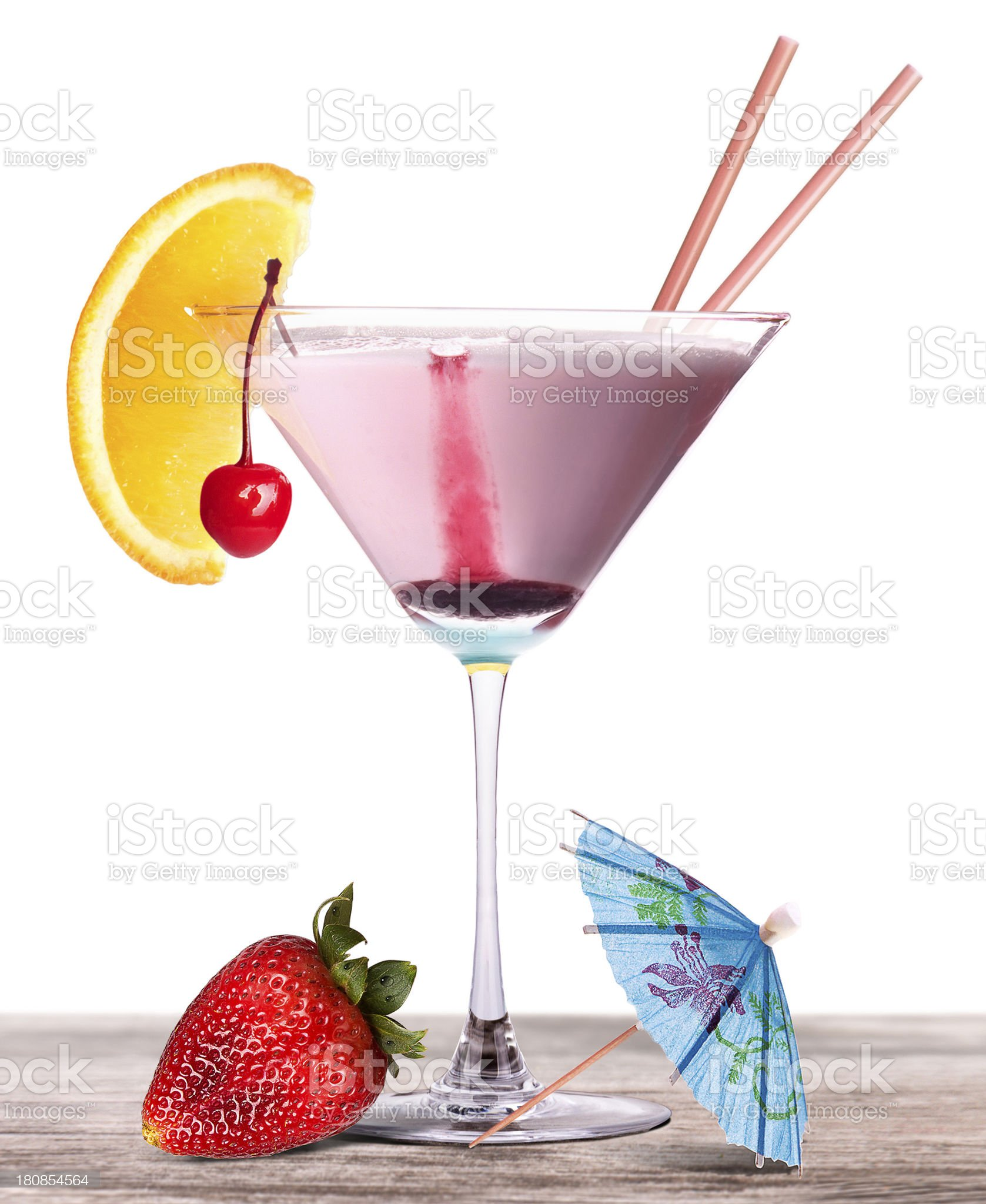 alcoholic cocktail on a vintage wooden table royalty-free stock photo