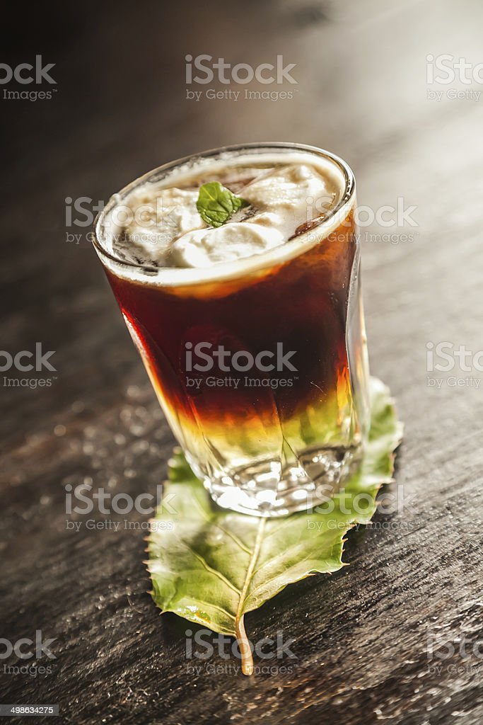 Alcoholic Coffee stock photo