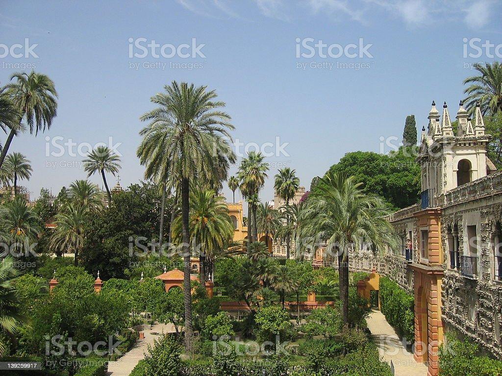 Alcázar Palace stock photo