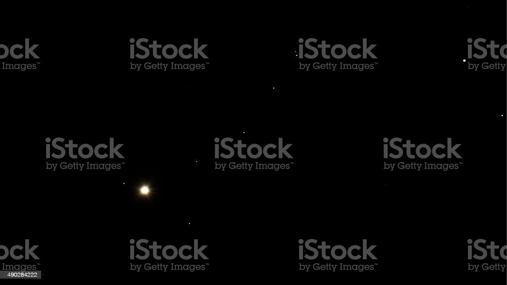 Aldebaran Star Alpha Taurus stock photo