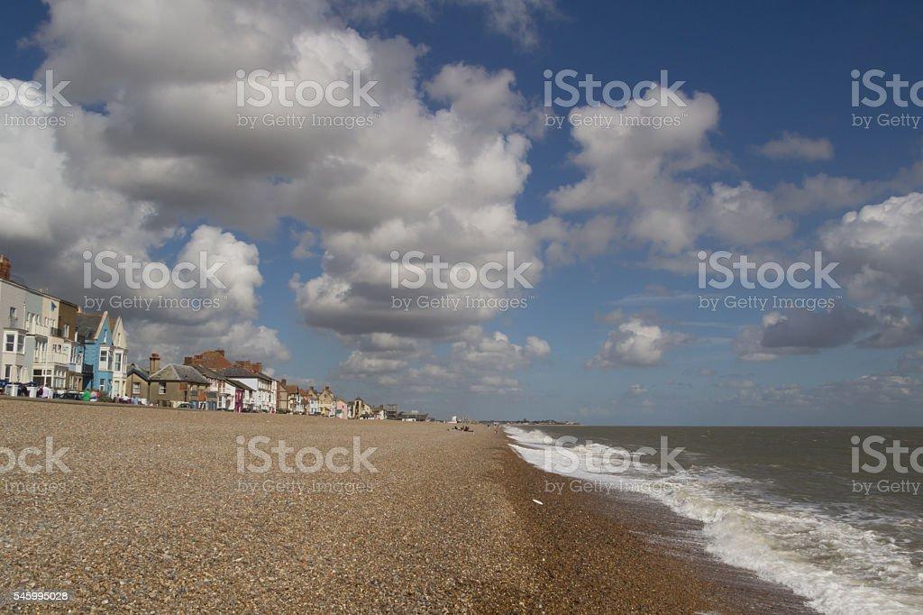 Aldeburgh beach stock photo