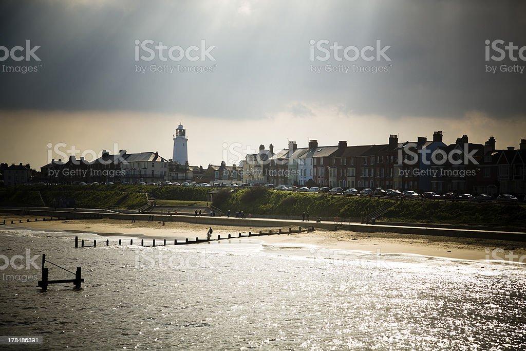 Aldeburgh coast , Suffolk, England stock photo
