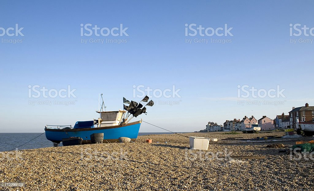 Aldeburgh, England stock photo