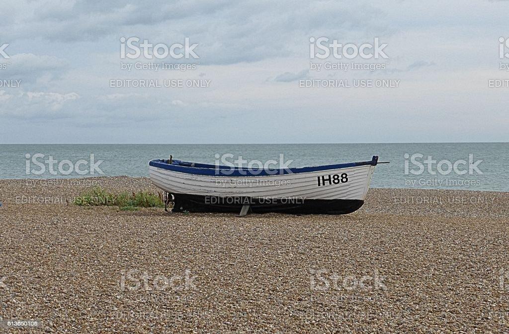 Aldeburgh Fishing Boat stock photo