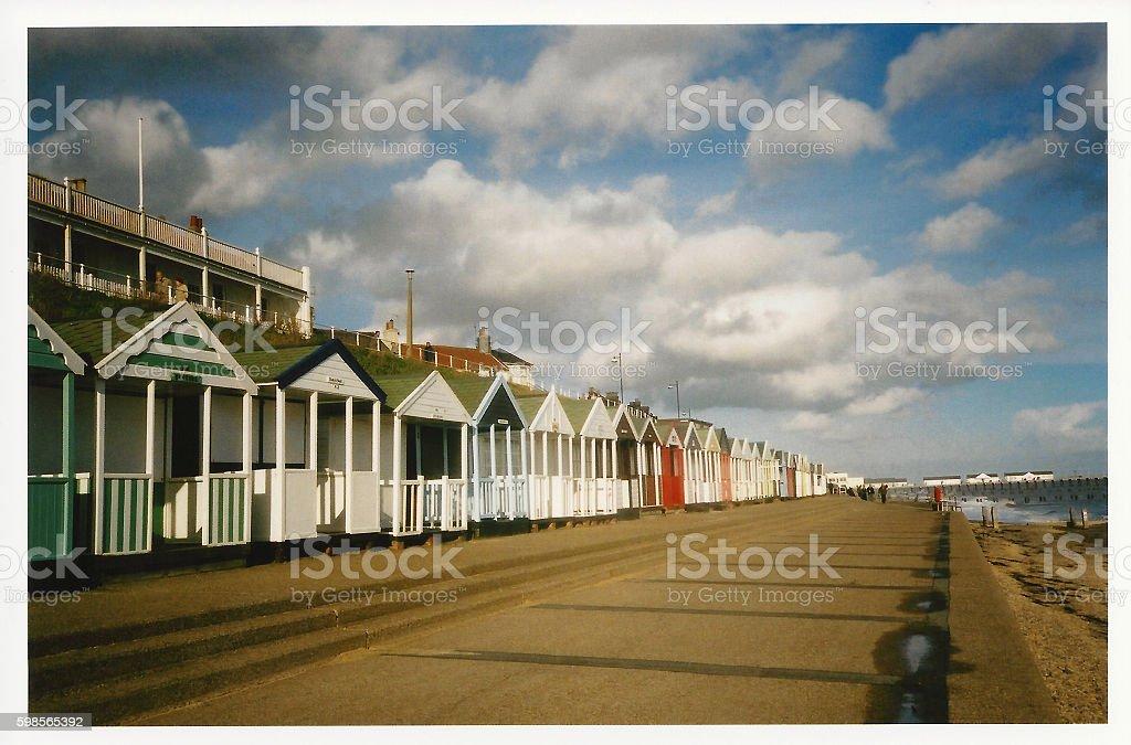 Aldeburgh, Suffolk, England stock photo