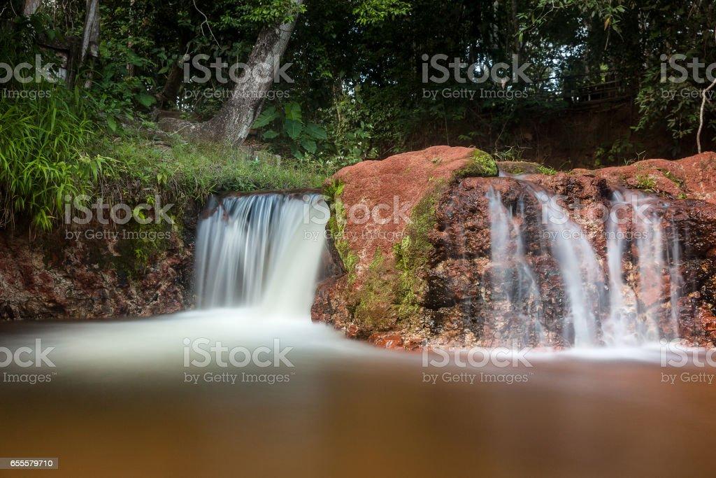 Aldeia do Leao (Lion's  native village) Waterfall - Carolina - Maranhao - Brazil stock photo