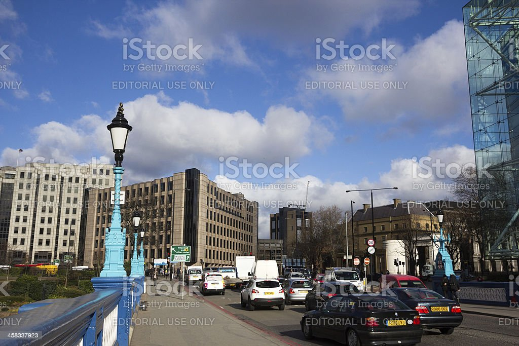 Aldgate in London, England royalty-free stock photo