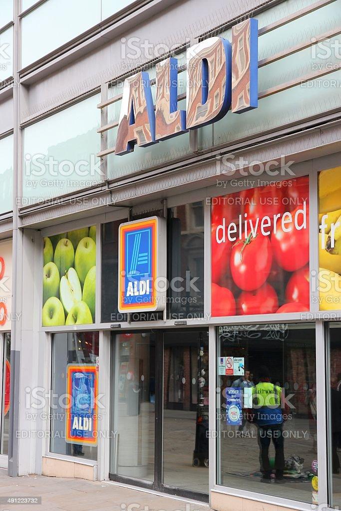 Aldi UK stock photo