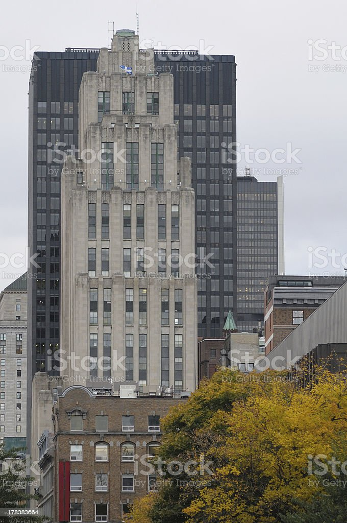 'Aldred building, Montreal' stock photo