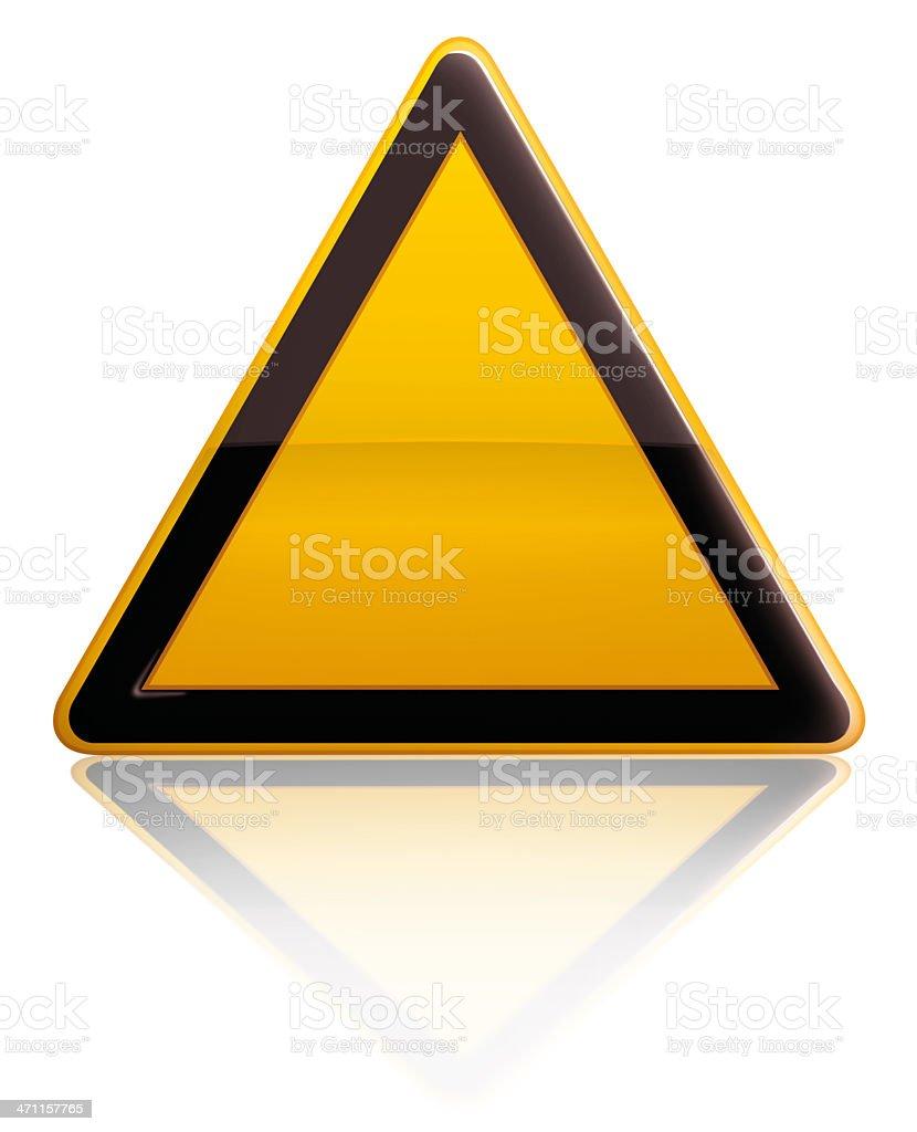 Alert Sign royalty-free stock photo