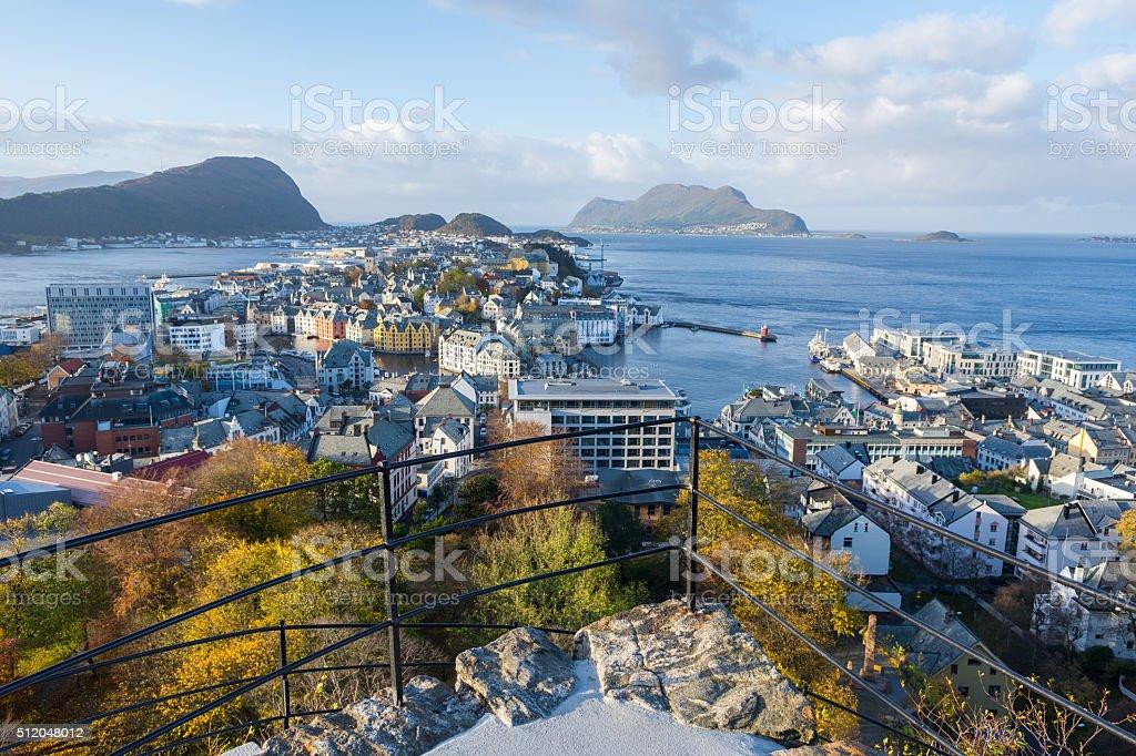 Alesund, Norway stock photo