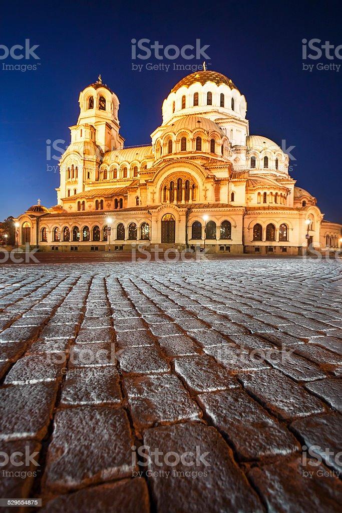 Alexandar Nevsky Cathedral stock photo