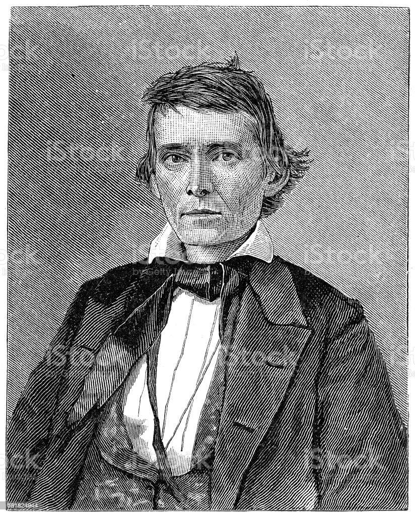 Alexander H. Stephens stock photo