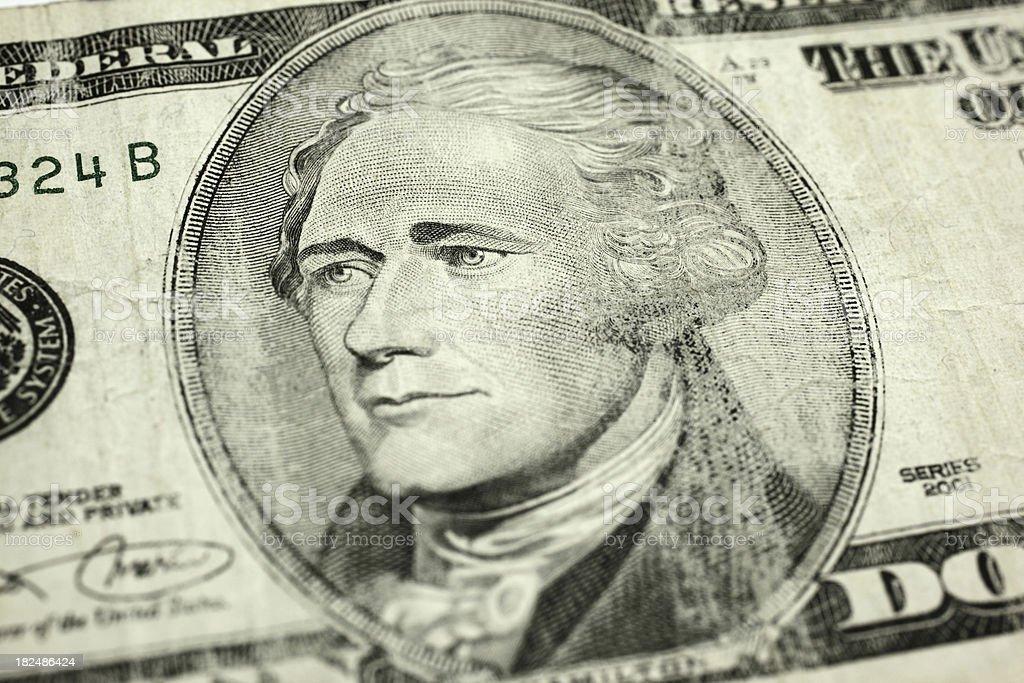 Alexander Hamilton stock photo