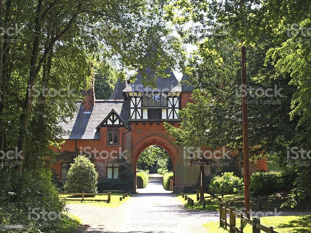Alexander lodge,Nottinghamshire.UK stock photo