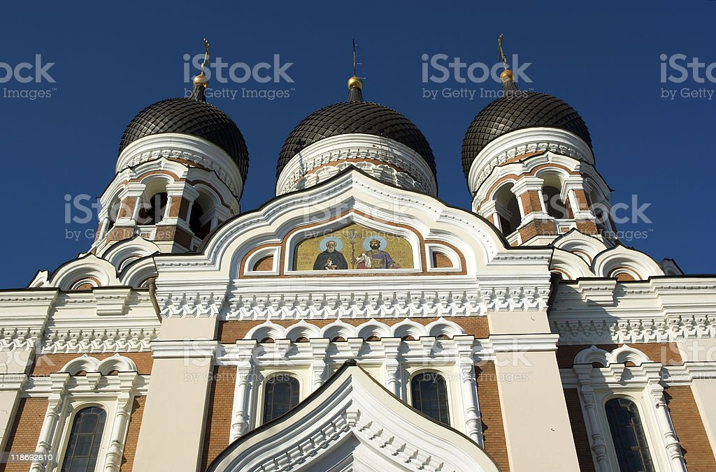 Alexander Nevsky Cathedral, Tallinn royalty-free stock photo