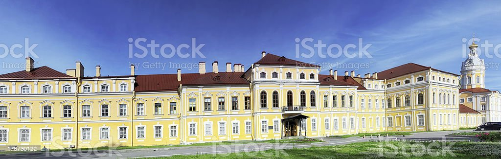 Alexander Nevsky Lavra (monastery) in Saint-Petersburg stock photo