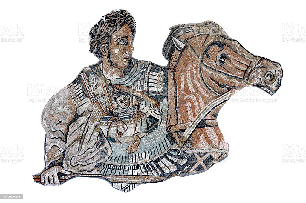 Alexander The Great royalty-free stock photo