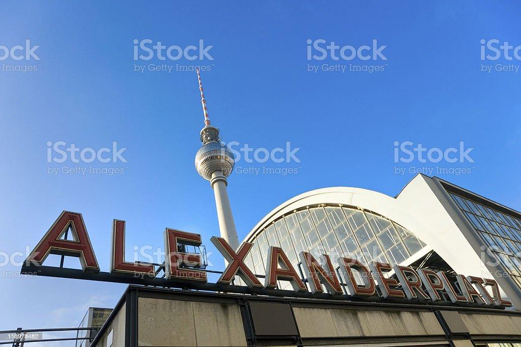 Alexanderplatz in Berlin, Deutschland. – Foto