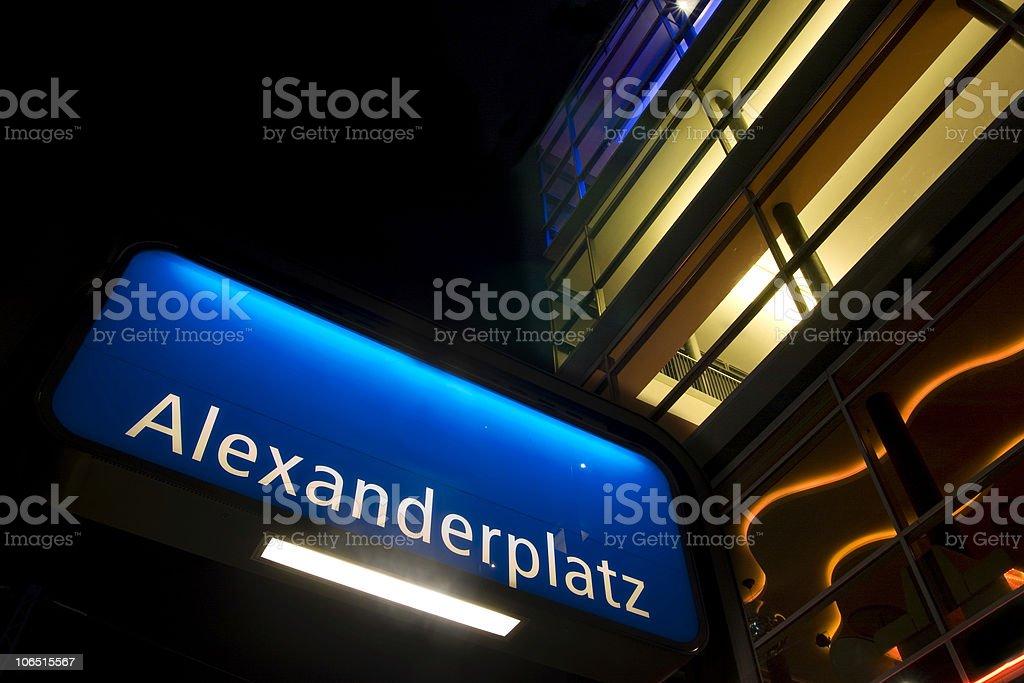 Alexanderplatz royalty-free stock photo
