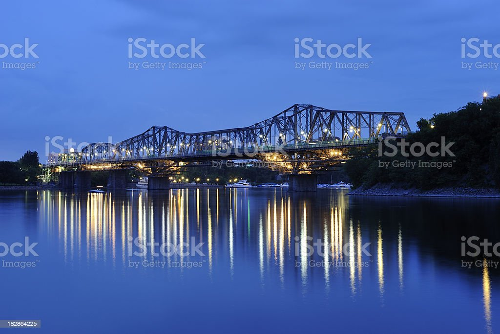 Alexandra Bridge royalty-free stock photo