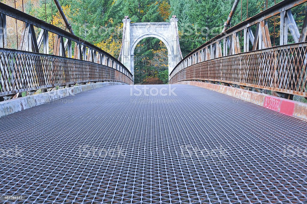 Alexandra Bridge stock photo