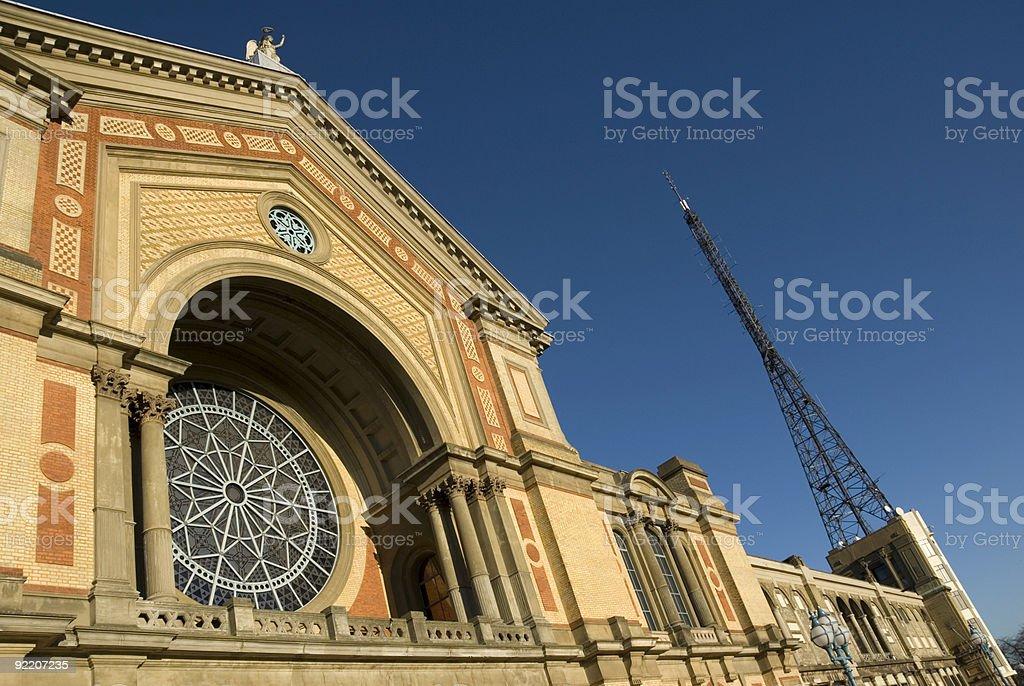 Alexandra Palace stock photo