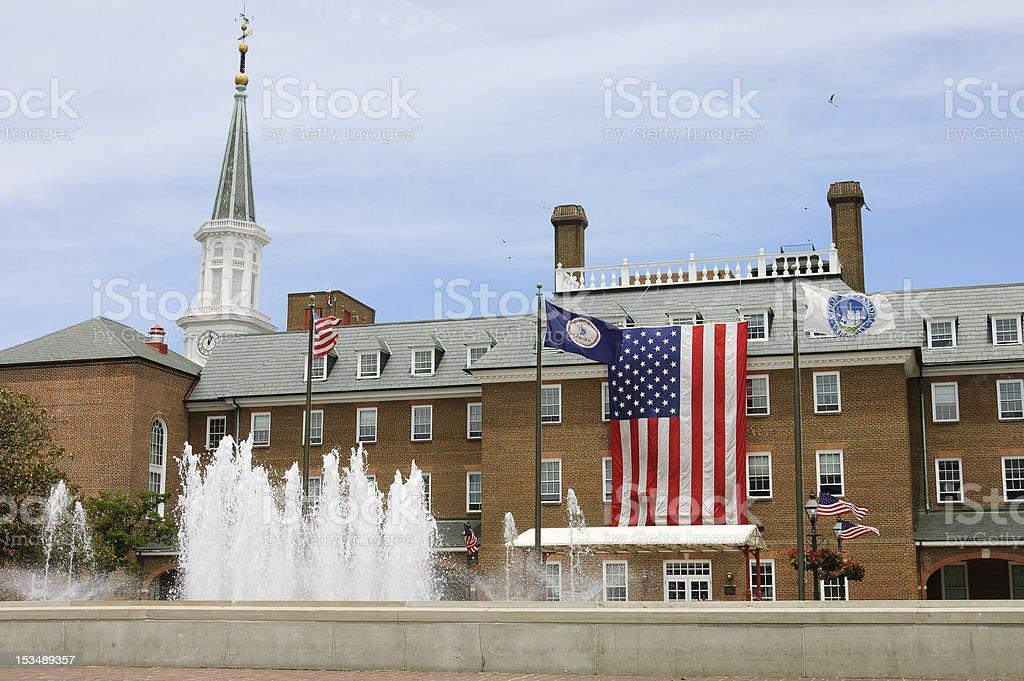 Alexandria City hall stock photo