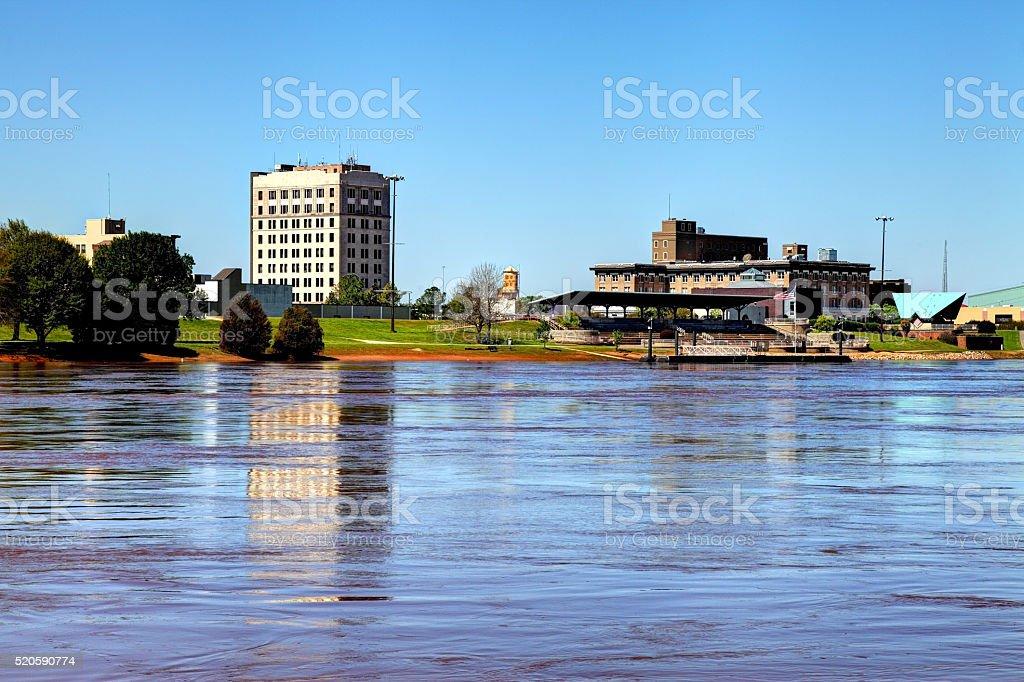 Alexandria, Louisiana stock photo