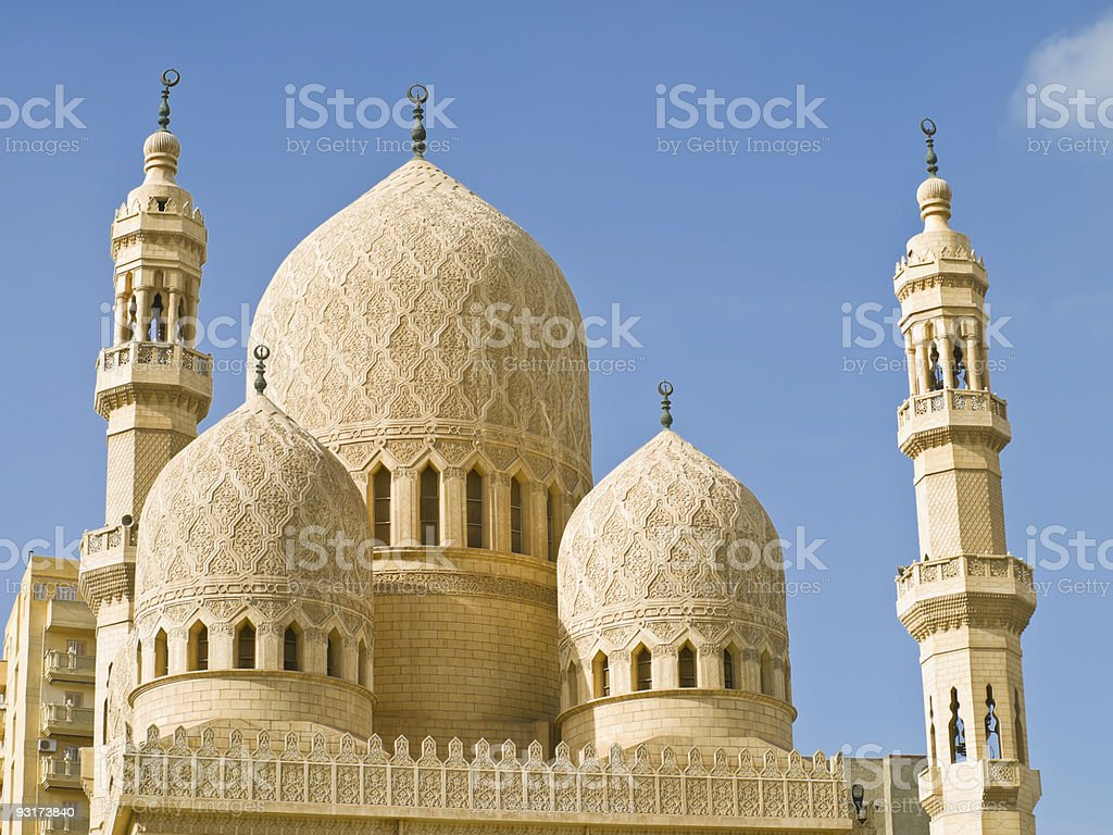 Alexandria - mosque royalty-free stock photo