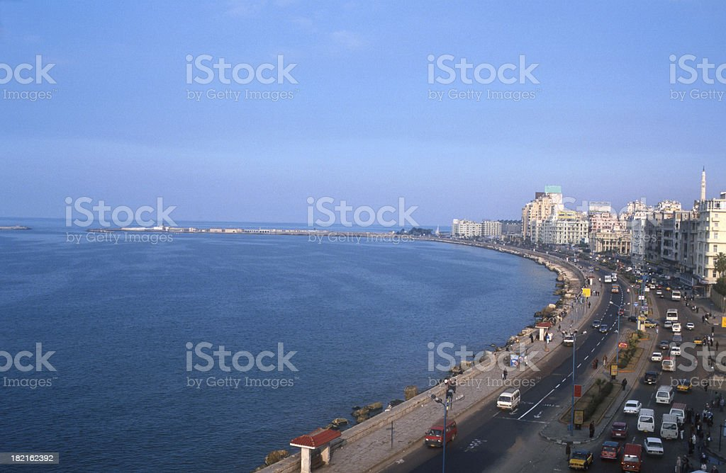 Alexandria skyline royalty-free stock photo