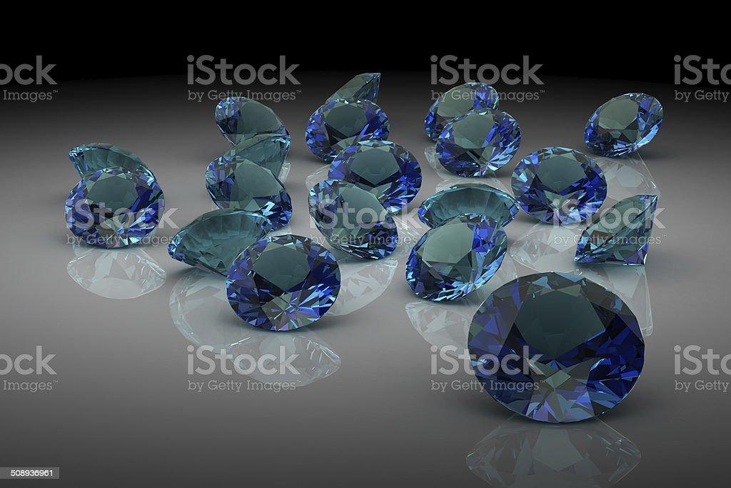 alexandrite (high resolution 3D image) stock photo
