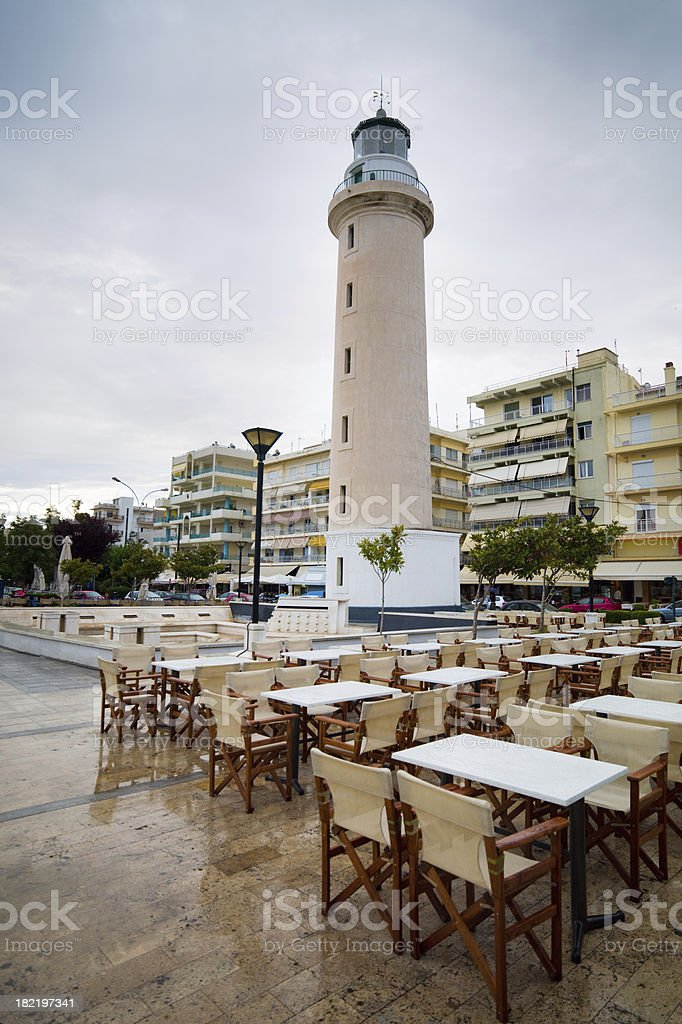 Alexandroupolis Lighthouse stock photo