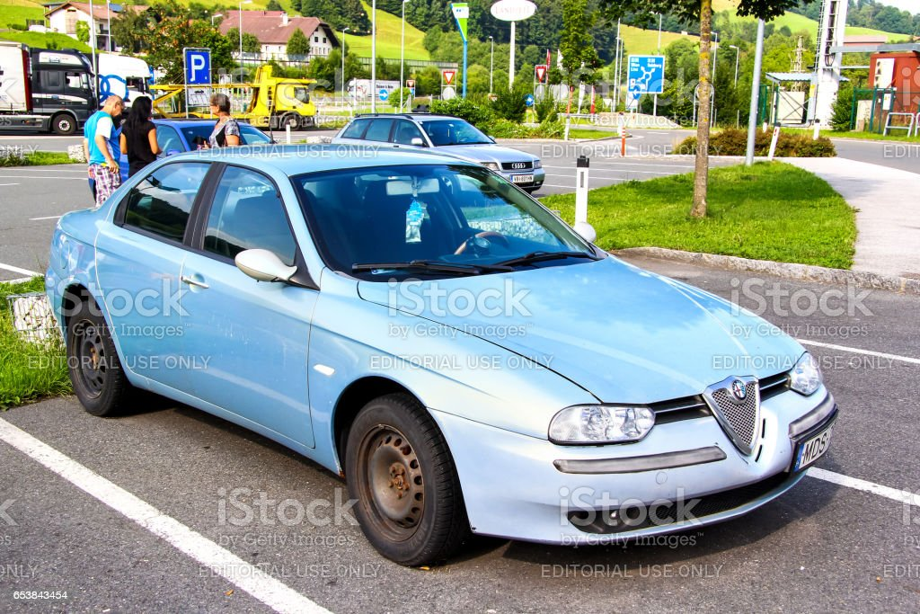 Alfa Romeo 156 stock photo