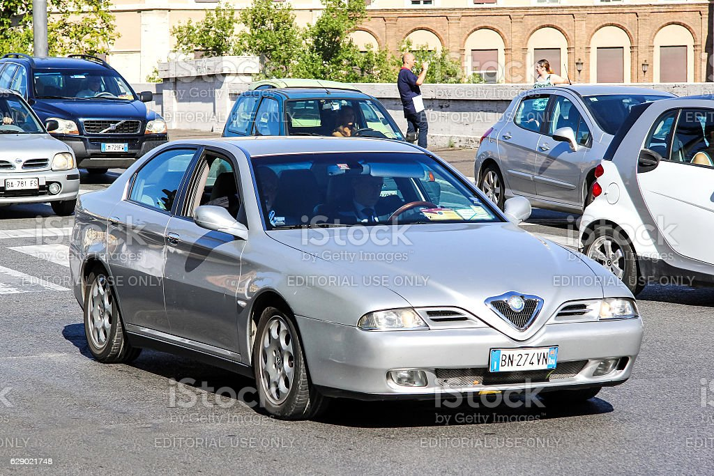 Alfa Romeo 166 stock photo