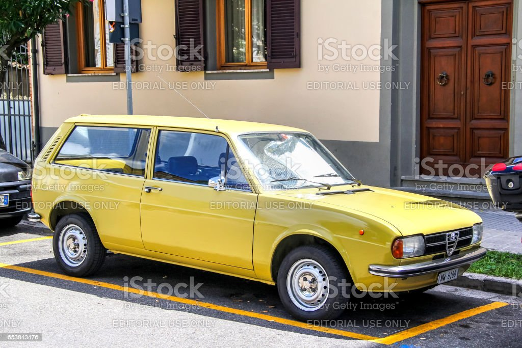 Alfa Romeo Alfasud Giardinetta stock photo