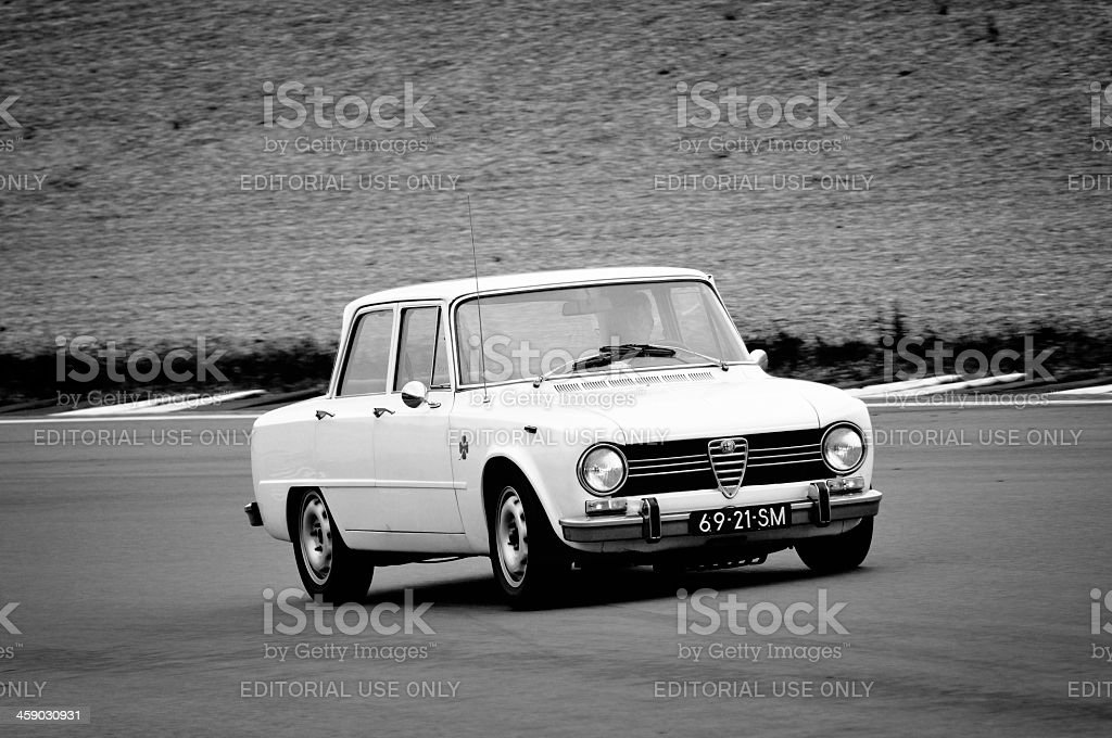 Alfa Romeo Giulia royalty-free stock photo