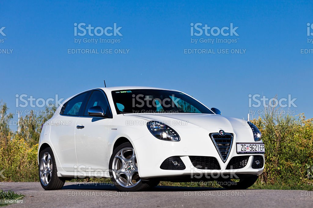 Alfa Romeo Giulietta TCT stock photo