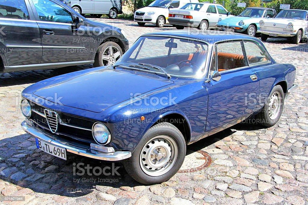 Alfa Romeo GT 1300 Junior stock photo