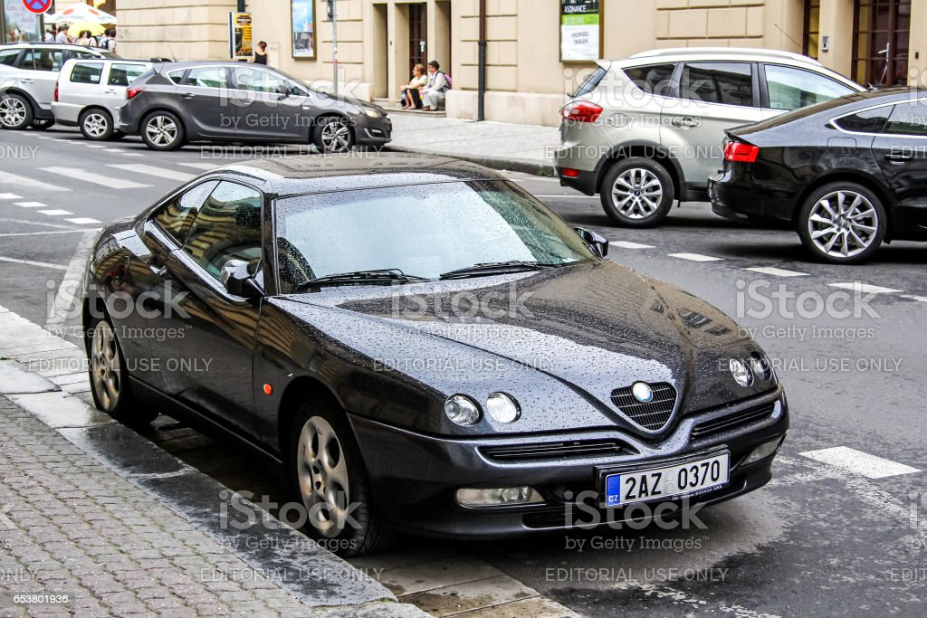 Alfa Romeo GTV stock photo