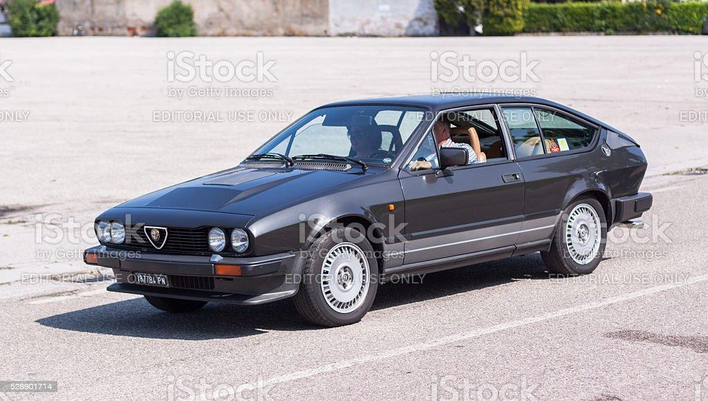 Alfa Romeo GTV6 stock photo